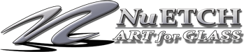 NuEtch Art For Glass - The Look of Glass Etching